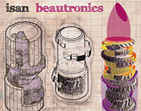 ISAN: Beautronics. Album Artwork