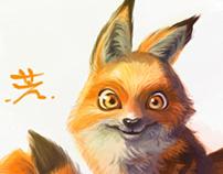 fuzzy fox