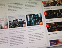 Moviemonsters.gr Web design