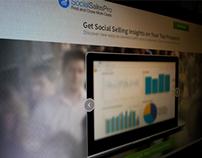 SocialSalesPro Logo & Landing Page Design