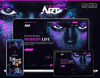 Web Design_Leigh Art