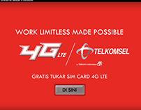 Telkomsel 4G LTE -MadePossible