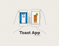 Toast App -Concept Project-