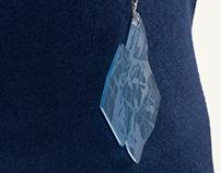 Ghiaccio / Laser engraved jewellery