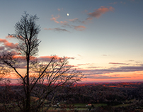 Moon Shots From Waldens Ridge & Cumberland Mountains