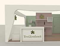 TroiZenfants Stand