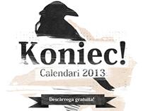 KONIEC Calendar 2013 I Free Download