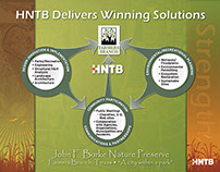 John F. Burke Nature Preserve Presentation Board