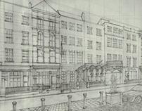 Dawson street sketch