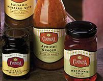 Britton Design Food Packaging Design & Cookbook Design