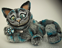 Cheshire Cat (based on Tim Burton)