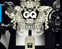 GQ(CHN) Grooming Award illustration 2011-2012