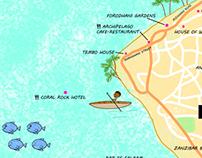 Map illustration - Sample