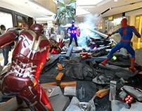 Super héroes Centro Comercial Los Molinos