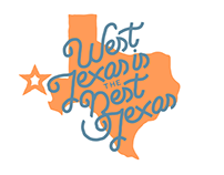 Hand Lettering - West Texas is the Best Texas