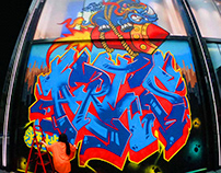 Graffiti-ANTA BOMBING STREET event