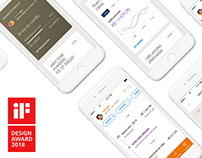 IF Design Award 2018 . redesign app Itaú