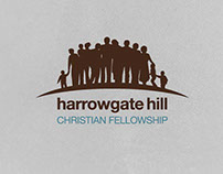 Logo Design for Harrowgate Hill Christian Fellowship