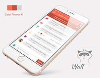 Wall Mobile App IOS