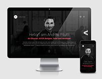 Personal website and portfolio