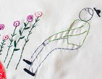 (hand-embroidery) Nostalgia