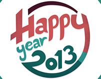 Happy Year 2013