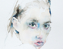 Watercolor Faces