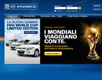 Hyundai 2010 Minisite