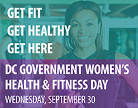 DC Government Women's Health & Fitness Day