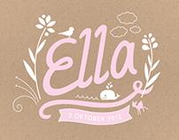 Ella | Birth announcement