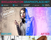 30 Exclusive Photo Actions - Free Photoshop Actions