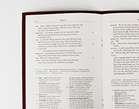 Complex Text Editorial Design: Henry V