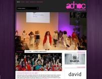 Web Redesign Ad-Hoc Magazine