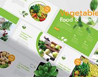 Vegetables - Healthy Food Presentation Template