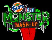Fanta and Icee - Character design and logo lockup