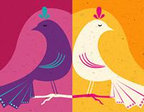 Twins Birds