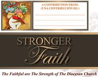 Roman Catholic Diocese of Fresno Pledge Card Mailer
