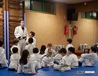 Judo Infantil - Sessão de Treino