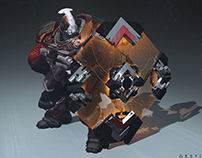 Red Legion Shield in Destiny 2