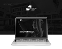 MG International Fragrance Company Website Design
