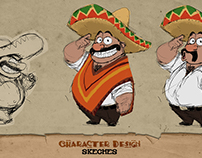 DORITOS UAE CHARACTER DESIGN sketches