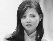 Ao dai_Vietnamese girl