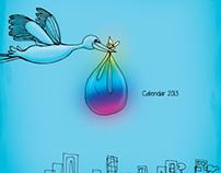 Bundle of joy - calendar 2013