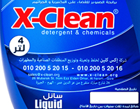 X-Clean Co. for Detergent & Chemicals.