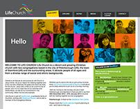 Life Church branding, literature & web design