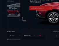 Study of dark mode Website for a Dealership client