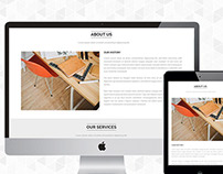 Free Elegant PSD And Responsive HTML Template