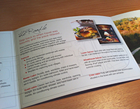 Edge Charter promotional literature design