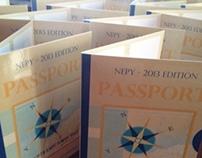 North East Power Yoga - 2013 Passport Design