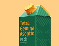 Tetra Gemina Pack Mock-ups